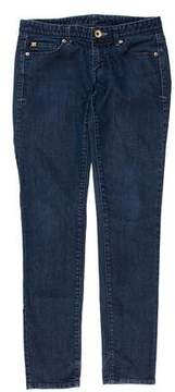 Armani Exchange Low-Rise Skinny Jeans