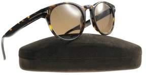 Tom Ford New Sunglasses FT0522 52E 51-21-145 Dark Havana /Brown Lens Fast Ship