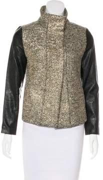 Generation Love Metallic Bouclé Jacket