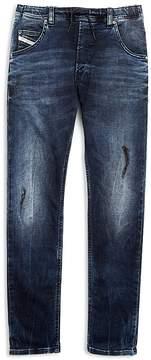 Diesel Boys' Distressed Jeans with Drawstring - Big Kid