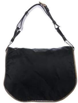 Stuart Weitzman Chain-Link Flap Shoulder Bag