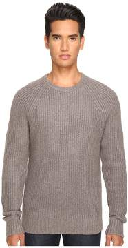 Jack Spade Shaker Stitch Ribbed Crew Neck Sweater