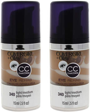 Cover Girl Light/Medium Eye Rehab Concealer - Set of Two