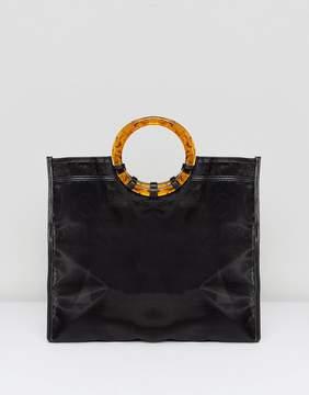 Asos DESIGN organza shopper bag