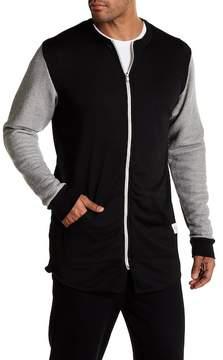 Kinetix Victory Colorblock Linen Blend Track Jacket