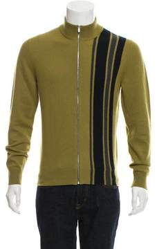Hermes Cashmere Zip-Front Sweater w/ Tags