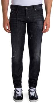 Viktor & Rolf Men's Skinny Distressed Jeans