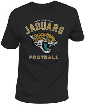 Authentic Nfl Apparel Men's Jacksonville Jaguars Midfield Retro T-Shirt