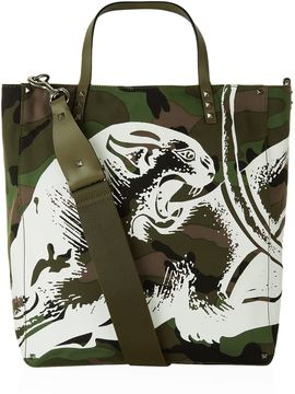 Valentino Panther Camo Tote Bag