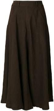 Aspesi long flared skirt