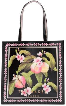 Ted Baker Maecon Peach Blossom Large Icon Tote Bag