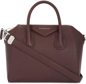 Givenchy Red Modern Antigona Leather Tote Bag