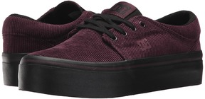 DC Trase Platform TX SE Women's Lace up casual Shoes