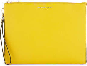 MICHAEL Michael Kors Mercer leather pouch - OLIVE - STYLE