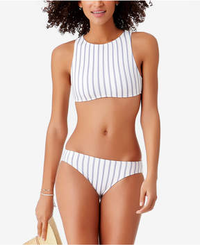 Anne Cole Studio Beach Bunny Striped Bikini Top Women's Swimsuit