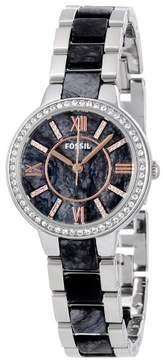 Fossil Virginia Gray Dial Ladies Casual Watch ES3918