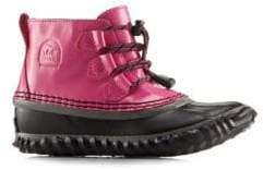 Sorel Girl's Out N About Lace Leather Boots