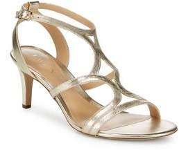 Lauren Ralph Lauren Gilah Strappy Leather Stiletto Sandals