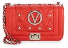 Mario Valentino Beatrized Quilted Leather Mini Crossbody Bag