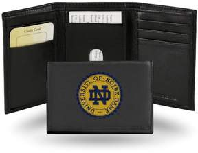 Rico NCAA Embroidered Leather Trifold Wallet - Notre Dame