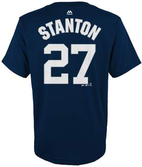 Majestic Boys 4-18 New York Yankees Giancarlo Stanton Name & Number Tee