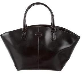 Tod's Leather Crescent Tote