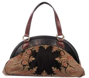 Etro Paisley Canvas Handle bag