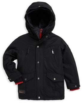Diesel Little Boy's and Boy's Hooded Jacket