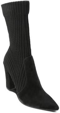 Dolce Vita Women's Elon Suede & Knit Sock Booties