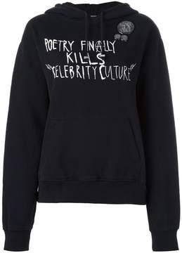Each X Other 'Punk poetry' hoodie
