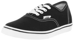 Vans Kids Authentic Lo Pro Black/White Skate Shoe 13.5 Kids US