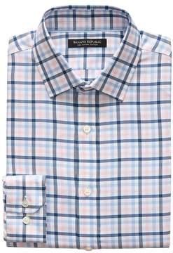 Banana Republic Grant Slim-Fit SUPIMA® Cotton Gingham Shirt