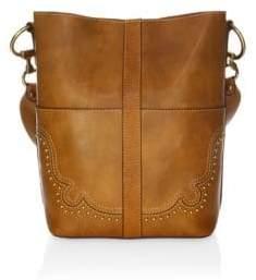 Frye Ilana Western Leather Bucket Bag