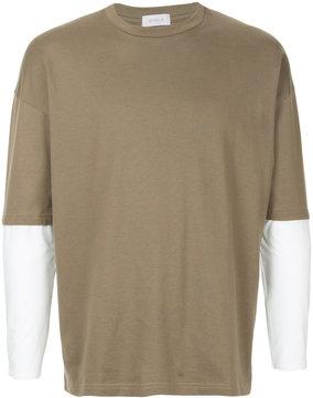 EN ROUTE contrast T-shirt