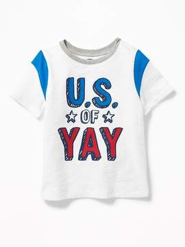 Old Navy U.S. of Yay Graphic Tee for Toddler Boys