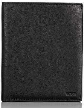 Tumi Men's Leather Passport Case - Black