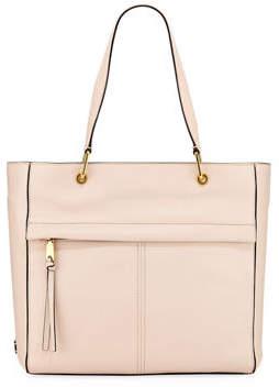 Cole Haan Kathlyn Leather Zip-Top Work Tote Bag