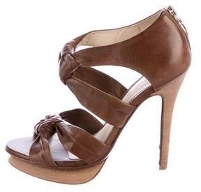 Alexandre Birman Multistrap Leather Sandals