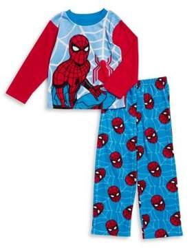 AME Sleepwear Little Boy's and Boy's Spiderman Two-Piece Pajama Set