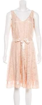 Tahari Knee-Length Lace Dress