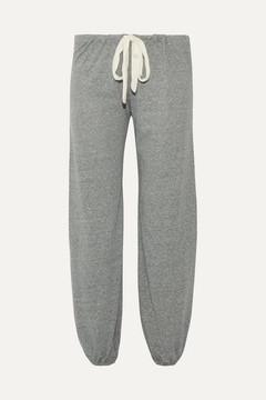 Eberjey Heather Jersey Pajama Pants - Gray