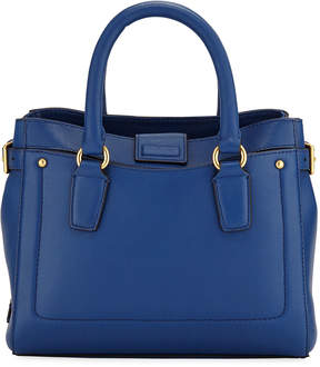 Cole Haan Esme Small Leather Tote Bag, Navy