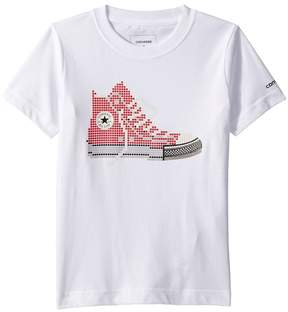 Converse Pixel Chuck Tee Boy's T Shirt
