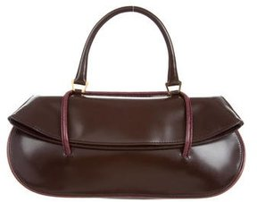 Badgley Mischka Leather Top Handle Bag