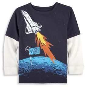 Andy & Evan Toddler's, Little Boy's & Boy's Space Bandits Tee