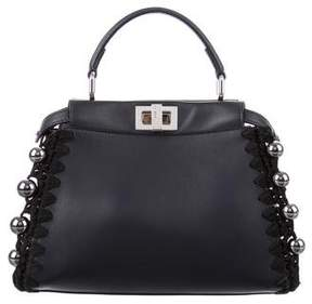 Fendi Whipstitch Mini Peekaboo Bag