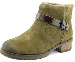 Elie Tahari Martini Women Round Toe Suede Brown Ankle Boot.