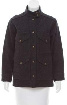 Filson Virgin Wool Snap Front Jacket
