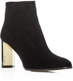 Ted Baker Women's Prairey Suede High Heel Booties