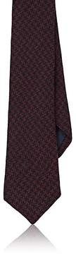 Barneys New York Men's Houndstooth Wool-Silk Necktie